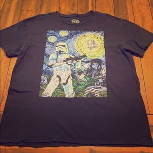Star Wars 'Van Gogh' T-shirt